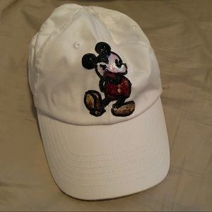 Mickey Mouse Sequin Adult Hat